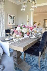 grey wash dining table. Thanksgiving-table-scape-black-velvet-chairs-vintage-inspired-. Velvet ChairsGrey WashWhite Grey Wash Dining Table