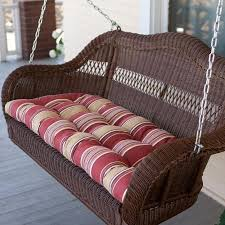 get ations c coast casco bay 42 x 19 5 outdoor cushion for porch swings and gliders