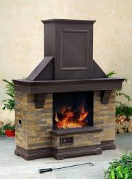 great versatile jasper outdoor fireplace with timeless design and steel construction