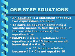 2 algebra lesson 3 solving one step addition subtraction equations
