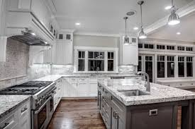 Granite Kitchen Countertops With White Cabinets Home Design Ideas