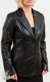 stylish leather leather jackets black exit xs women s blazer serenity gm108 women emotionally