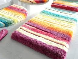 colorful bathroom rugs luxury bath abyss mosaic colored rug rust multi handcrafted