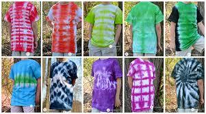 Different Tie Dye Patterns Amazing 48DifferentTieDyeTShirtTechniquesandPatterns