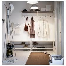 Ikea Shoe Storage Tjusig Bench With Shoe Storage White 108x50 Cm Ikea