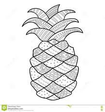 Small Picture Download Coloring Pages Pineapple Coloring Page Pineapple