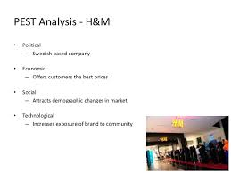 retail startegy project pest analysis