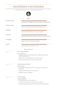 Accounting Assistant Resume Samples Visualcv Resume Samples Database