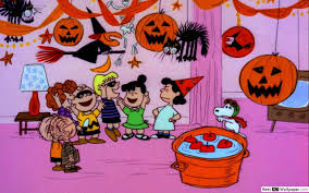Peanuts' Halloween HD wallpaper download