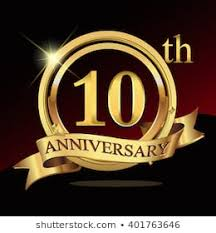 Image result for 10th anniversary