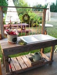 garden sinks. White Iron Wrought With Sink Garden Sinks
