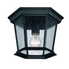 Acclaim Lighting Replacement Glass Acclaim Lighting Dover Collection 1 Light Matte Black Outdoor Ceiling Fixture