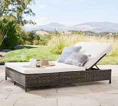 torrey all weather wicker double chaise