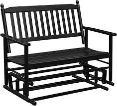 mupater patio glider swing bench porch