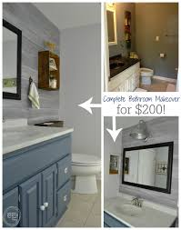 Cheap Bathroom Makeover Adorable Vintage Rustic Industrial Bathroom Reveal Refresh Living