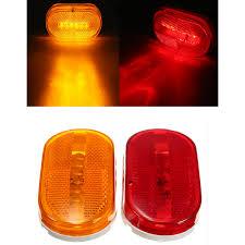 Strobe Indicator Light Us 4 99 Car Truck Red Yellow Amber 6 Led Beads Rectangle