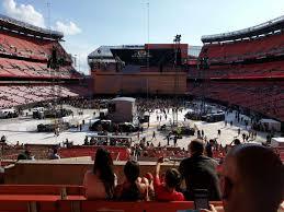 Firstenergy Stadium Section 120 Row 34 Seat 15 U2 Tour
