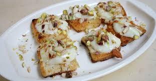 shahi tukra recipe