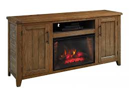 dylan infrared electric fireplace tv stand in weathered brown cs 26mm10187 wg