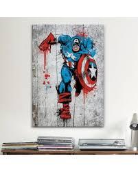 marvel comic canvas wall art