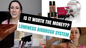 luminess airbrush makeup system is it worth the money