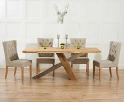 awesome dining room table and fabric chairs with inspiring oak dining table and fabric chairs 11