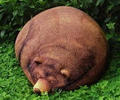 ... BEAR BEAN BAG. Image 1