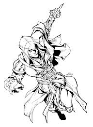 Hd Drawing Assassins Creed Transparent Png Clipart Free Download
