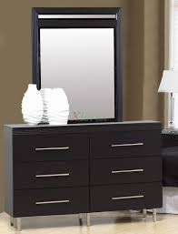 Cheap Bedroom Dressers With Mirrors And Black Mirrored Furniture Trends Picture Dresser Sets