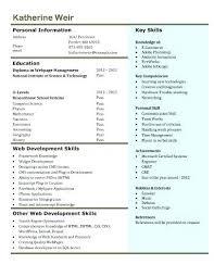Web Developer Cv Web Developer Resume Business Web Developer Resume Resume