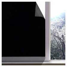 Light Filtering Window Film Us 12 37 14 Off 60x200 Cm Blackout Window Film 100 Light Blocking Film Static Cling Film For Privacy Day Sleep No Residue Stops Uv In