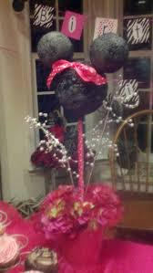 Pink And Black Minnie Mouse Decorations Decoration Decoration For An 18 Birthday Party Home Decor U Nizwa