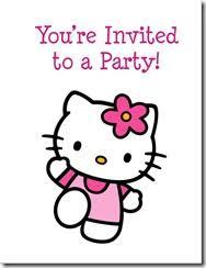 Printable Hello Kitty Invitations Personalized Hello Kitty Archives