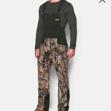 Men S Under Armour Stealth Hunting Bib Nwt