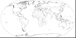 World Map Coloring Pages Color It World Countries Map Coloring Pages