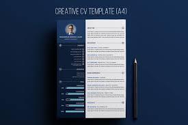 Free Creative Resume Psd Template Creativetacos