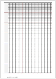 Knitting Graph Papers For Ms Word Word Excel Templates