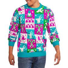 Multicolor Men\u0027s Ugly Christmas Sweater - Walmart.com