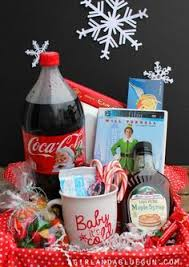 elf basket gift elf or elf soundtrack coca cola candy corn spaghetti jelly beans candy canes syrup candy etch a sketch lite brite how to