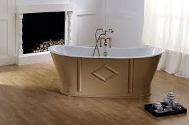 1 3 cast iron bath bathtub in bathroom