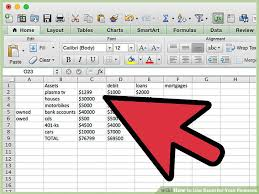 finances excel 3 ways to use excel for your finances wikihow