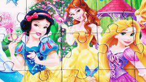 Small Picture Disney Princess Puzzles Es Coloring Pages
