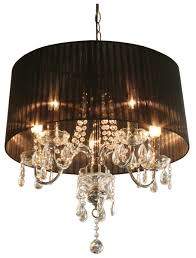 full size of lighting fascinating black shaded chandelier 6 moulin crystal pendant lamp black shade chandelier