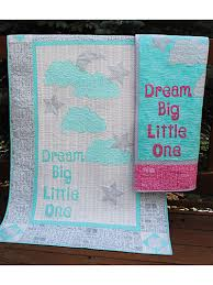 Kids Bed & Crib Quilt Patterns - Dream Big Crib Quilt Pattern & Dream Big Crib Quilt Pattern Adamdwight.com