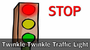 Twinkle Twinkle Traffic Light Song Lyrics Twinkle Twinkle Traffic Light English Nursery Rhymes Cartoon Animated Rhymes For Kids