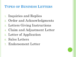 All Types Of Letter Format Pdf Business Letters