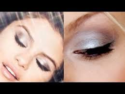 selena gomez inspired foiled metallic eye makeup