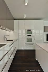 kitchens with white cabinets and dark floors. Boston Modern Kitchen White And Gray Cabinets Built In Wall Colors For Dark Floors Kitchens With
