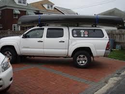 Kayak Rack for Pickup Trucks With Topper, Canoe Carrier for Truck ...