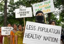 useful essay on population control in